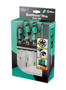 WERA 367/6 Schraubendrehersatz Kraftform Plus TORX® + Rack