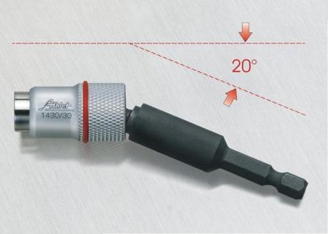 """Kugelkopf-Magnethalter, 1/4"""" x 88 mm"""